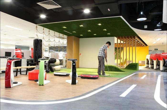SingTel's call centre for Spacial Awareness