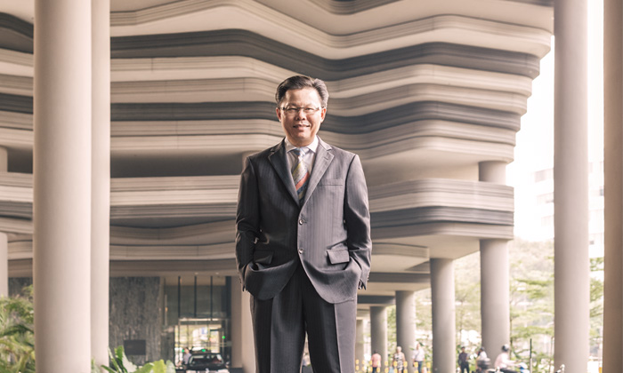 Andreas Sungaimin, senior vice president, human capital and development, Pan Pacific Hotels Group