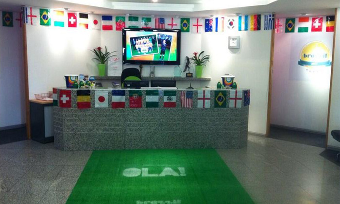 Terrific World Cup Office Decorations From Around The World Photos Largest Home Design Picture Inspirations Pitcheantrous