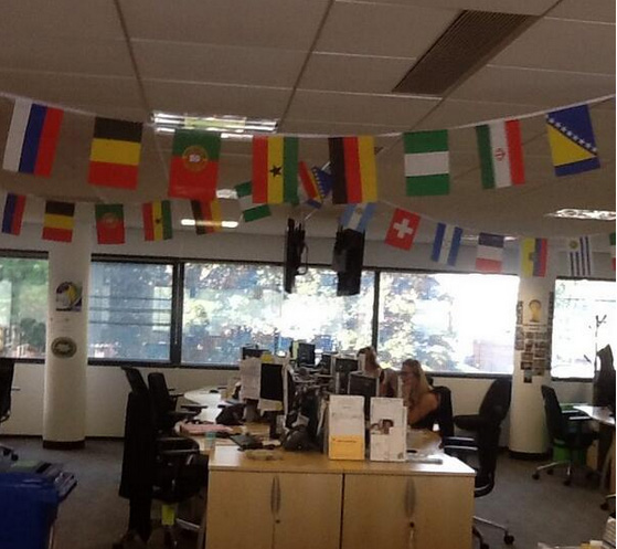 World Cup Decorations World Cup Office Decorations