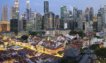 Skyline of SIngapore to show more new businesses were set up second quarter of the year