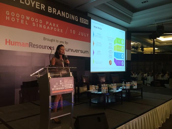 Rachele Focardi, Universum, Employer Branding APAC 2014