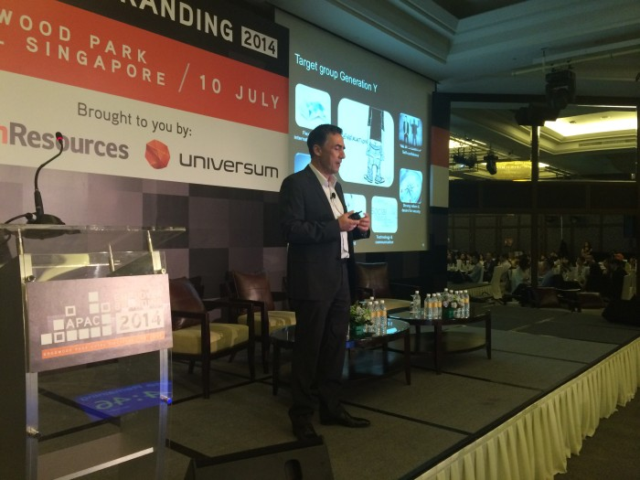 Oliver Grohmann, Daimler, at Employer Branding APAC 2014