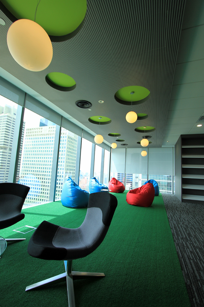 Mundipharma's offices in Siingapore are designed to bolster productivity