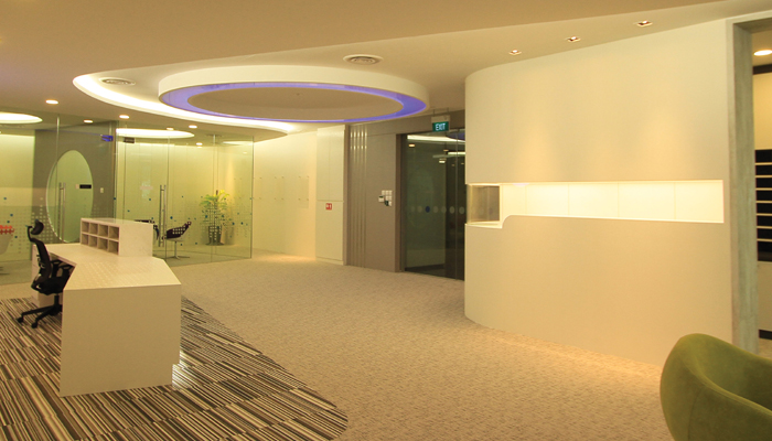 Mundipharma's offices in Singapore are designed to bolster productivity