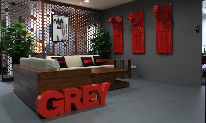 Grey Group waiting area