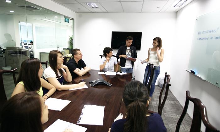 Grey Group meeting room