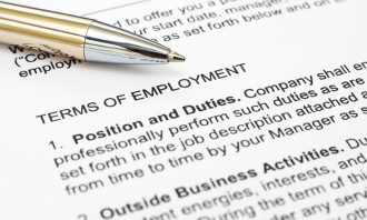 Tripartite guidelines on written terms of employment