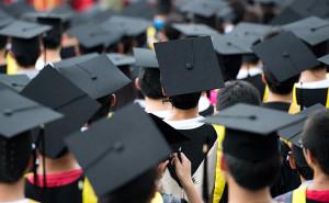 Fresh young graduates