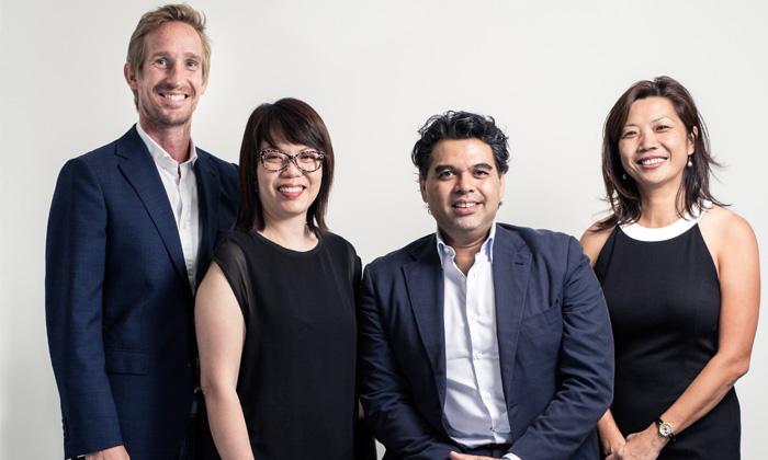 Dentsu Singapore new management