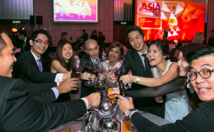 Asia Recruitment Awards - Malaysia celebrating