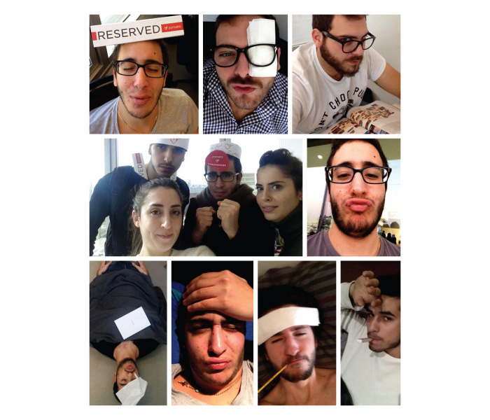 Zomato's sick leave selfies - taken from blog post