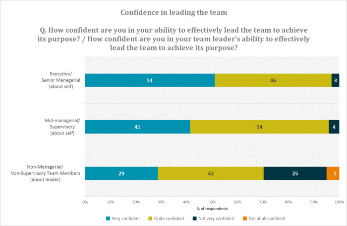 L.E.A.D. survey confidence graph