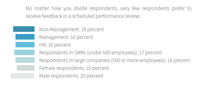 Bamboo HR performance review segementation