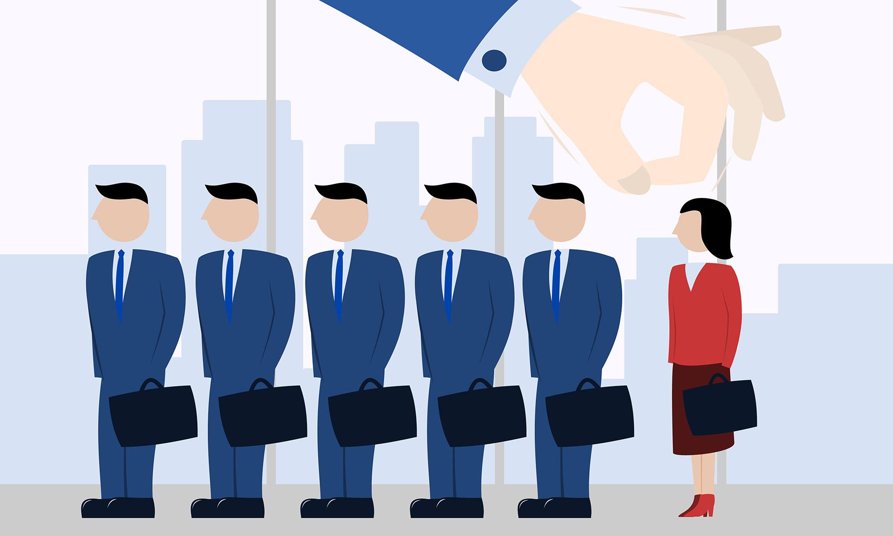 gender discrimination towards women in the workplace