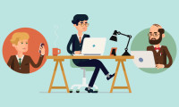 remote worker conference call