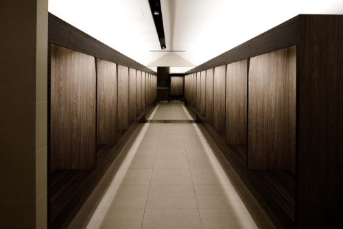 Expanded rest areas for staff in refurbished dressing rooms.