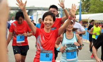 Present were Minister Grace Fu, and Parliamentary Secretary, Baey Yam Keng.