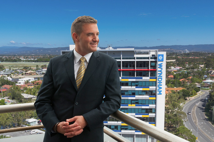 Resized Barry Robinson with Wyndham Corporate Centre