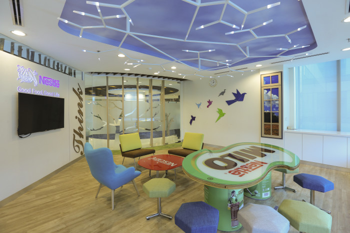 Photos concept of a little nest drives nestl malaysia for Well designed office spaces
