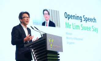 LIm swee say WSH conference