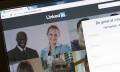 LinkedIn homepage, hr