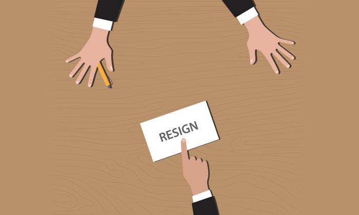 staff resign hr