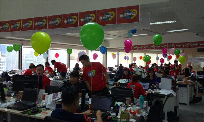 Lazada Singapore office