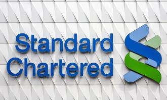 Standard Chartered Bank logo, hr