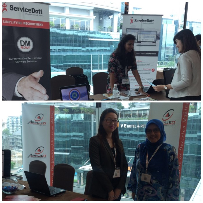 myQuickHR and ServiceDott at RA MY 2016