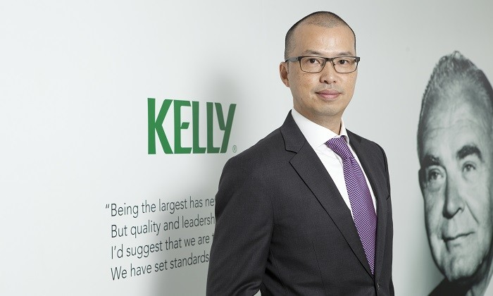Alan Wong, managing director at Kelly Services Hong Kong