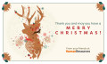 Human Resources Christmas greetings, hr
