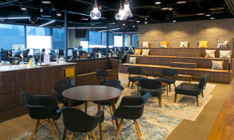 HomeAway's open pantry - regional HQ in Singapore