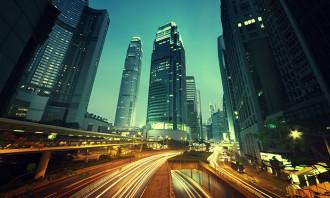 Hong Kong city view, hr