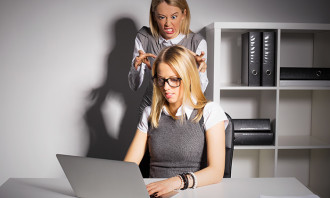 Annoying coworkers in the office