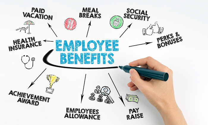 innovations of employee benefits Among the many employee benefits at the silicon valley tech giant, google will give the surviving partner of a deceased worker 50 percent of their salary for the next decade.