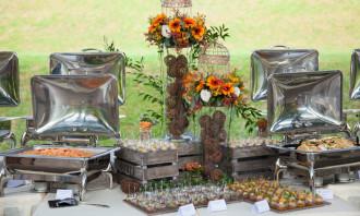 Orange Clove Catering - wedding feature