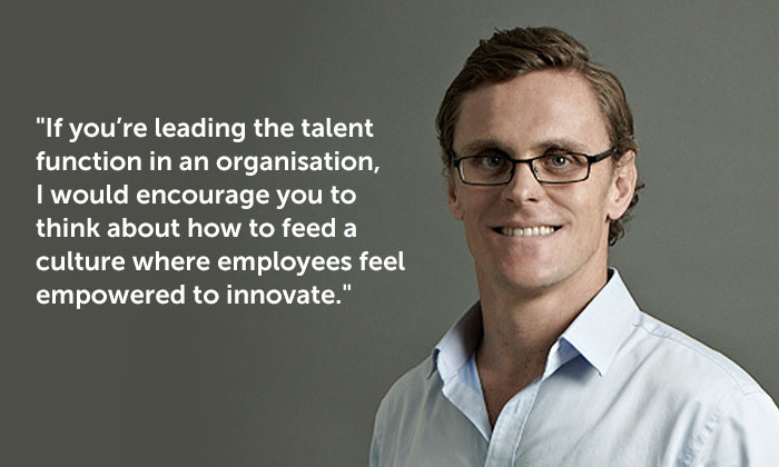 Dan Spencer, chief talent officer of Publicis Communications Singapore