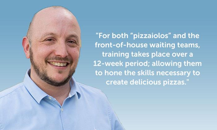 Robert Stubbing, PizzaExpress