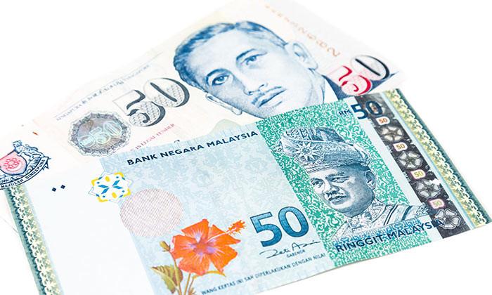 Singapore dollar versus Malaysian Ringgits