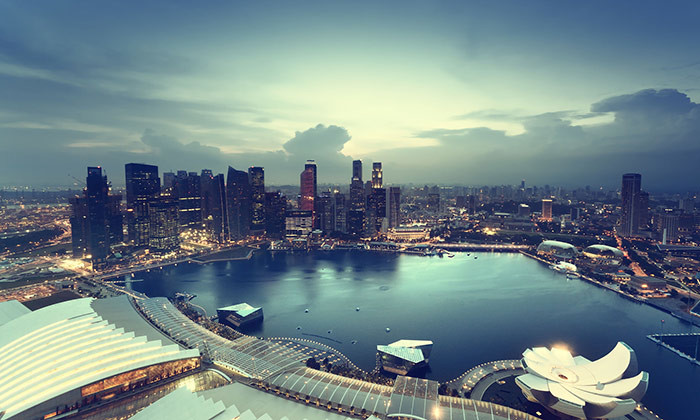 Singapore City Landscape - 123RF