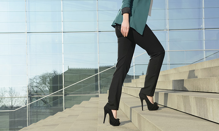 Business woman in heels, hr