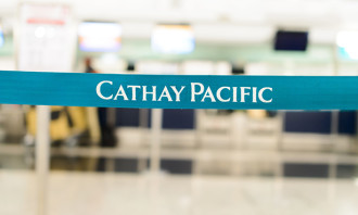 Cathay Pacific belt