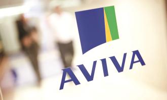 Aviva logo, hr
