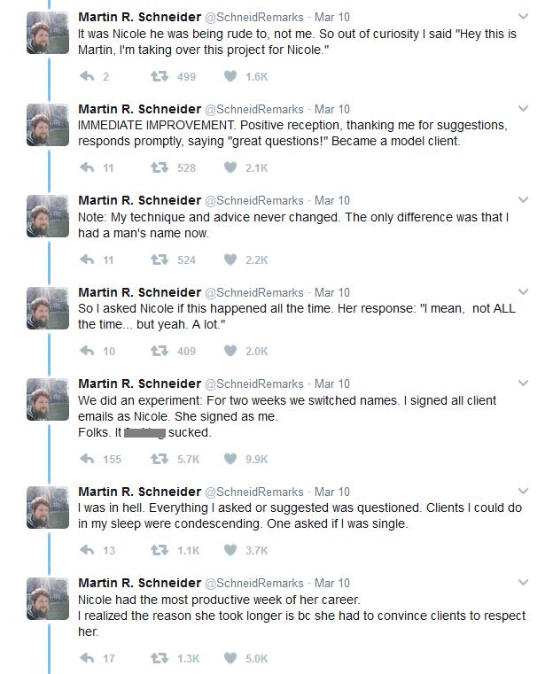 Martin R Schneider - twitter