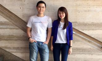 EngageRocket co-founders CheeTung Leong and Dorothy Yiu