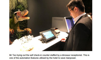Reducing manpower reliance in Japanese hotels
