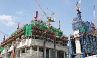 Singapore construction site