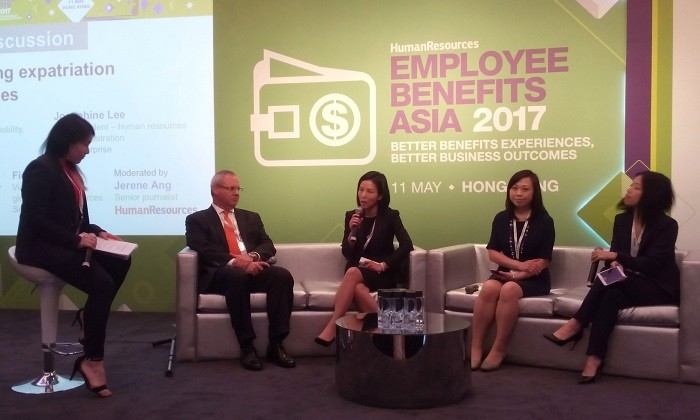 Employee Benefits Asia 2017 Hong Kong panel, hr