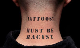 Back neck - must be racist